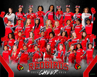 2018 Alton Middle School Cheer-photos